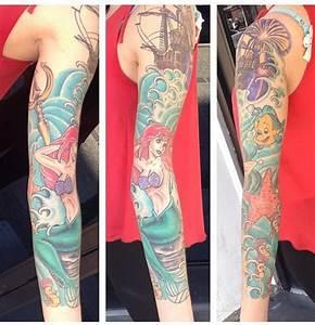 Ariel tattoo | Tattoos | Pinterest | Disney, Mermaids and ...