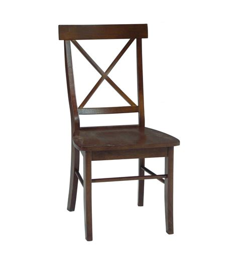 x back side chairs simply woods furniture opelika al