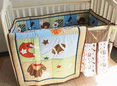 discount 5pcs embroidery baby bedding sets cot crib