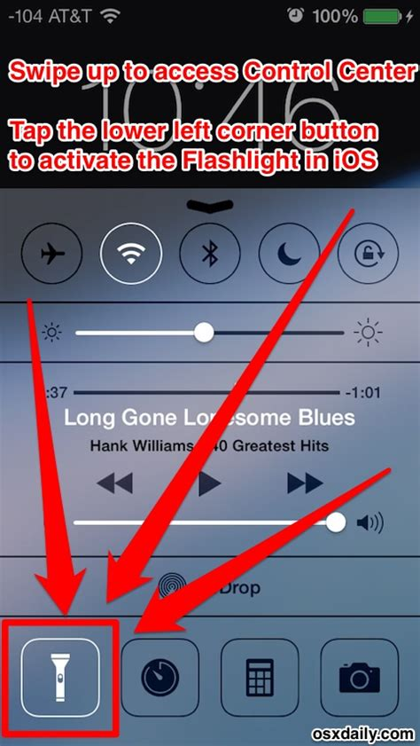 iphone 5s flashlight not working how to set flashlight on iphone 4s decoratingspecial