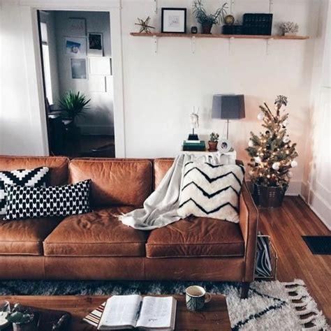 braunes wohnzimmer  super ideen archzinenet