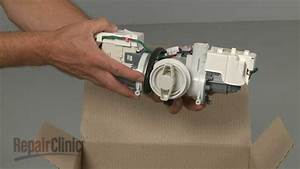 Samsung Washer Pump Assembly Replacement  Dc97