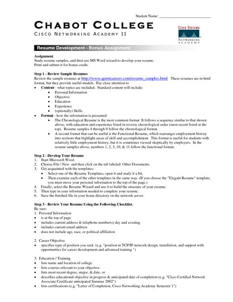 resume exles awesome 10 best detailed accurate