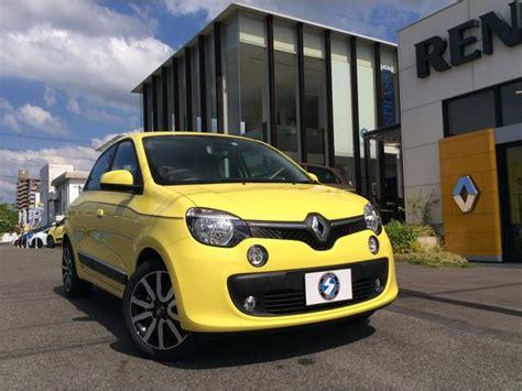 renault japan renault twingo intens 2017 yellow 50 km details