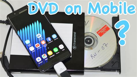 connect cd dvd drive   mobile  otg