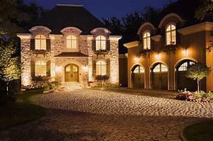 Landscape, Lighting, Show, Off, Your, Nighttime, Curb, Appeal