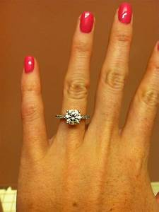 23 best engagement ring images on pinterest engagement With 2 wedding bands with engagement ring