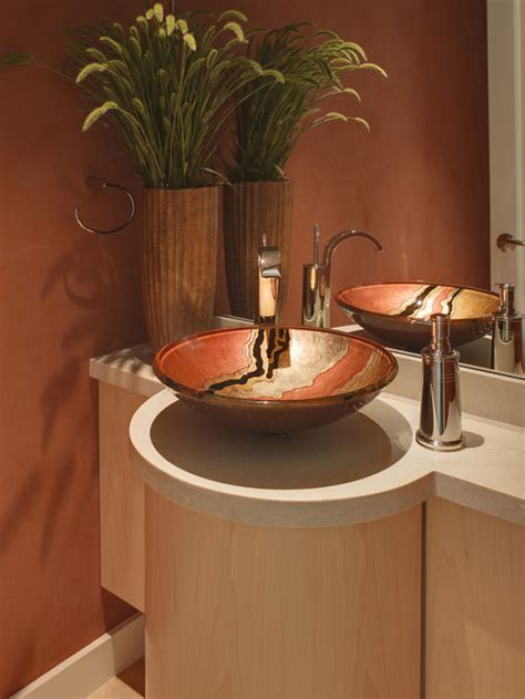 vessel sink ideas pictures remodel  decor