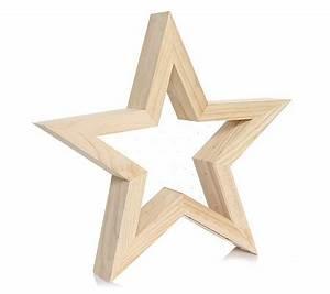 Holzsterne Zum Basteln : lumida xmas holz stern massivholz acryl elemente ca ~ Articles-book.com Haus und Dekorationen