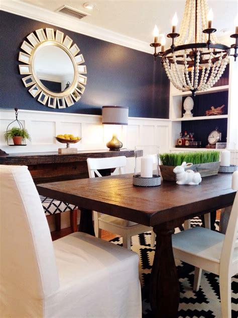 hale navy  board  batten dining room dining room