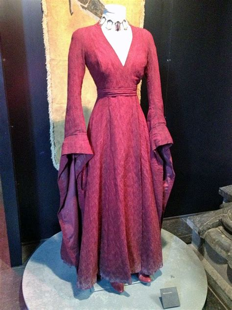 Melisandres Costume As Worn By Carice Van Houten On