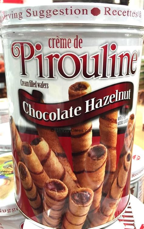 pirouline chocolate hazelnut wafer harvey  costco