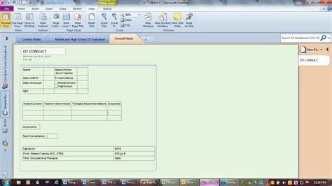 Templates For Onenote 2013 by Using Microsoft Onenote For Documentation On The Run