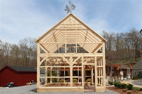 post and beam barn - Timber Frame Photos: The Barn Yard &