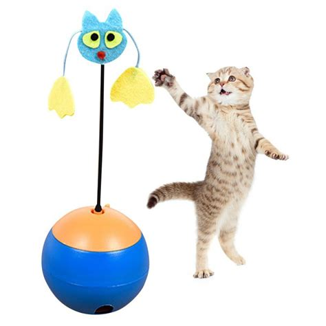electric tumbler cat toys interactive toys  cats multi