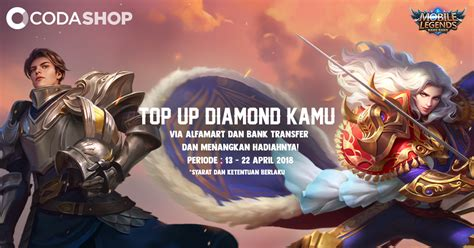 mobile legend codashop sssst kejutan top up diamonds mobile legends di codashop