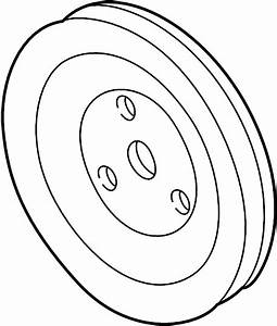 Pontiac Sunfire Engine Water Pump Pulley