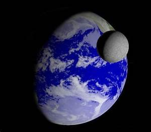 The Moon Seen From Earth - Pics about space