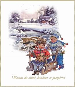 Carte Nouvelle Année : carte animee voeux nouvel an avec enfants ~ Dallasstarsshop.com Idées de Décoration