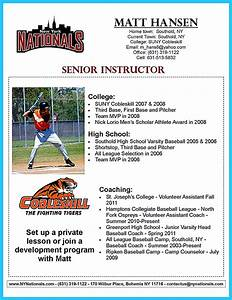 Great Sample Resume Starting Your Career Now With A Relevant Athletic Director