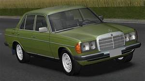 Mercedes W123 200d Drive  Links  - Racer  Free Game