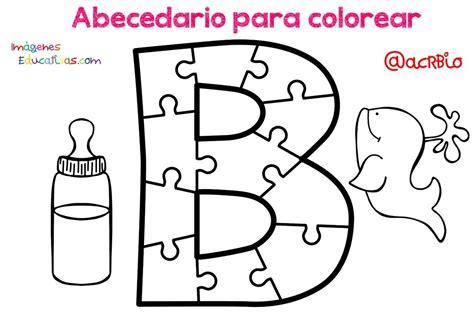 Abecedario para colorear (2) Imagenes Educativas