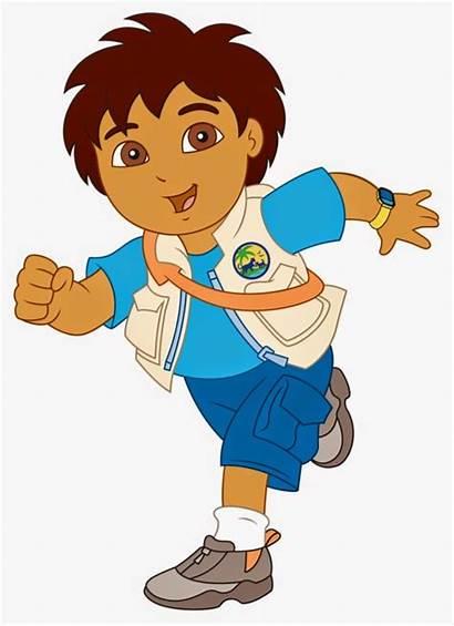 Diego Characters Main Cartoon