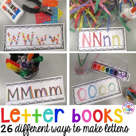 letter books letters preschool writing preschool