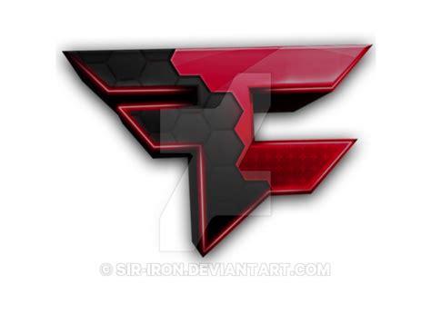 Red Version Of Faze Rugs Logosymbol By Sir Iron On Deviantart