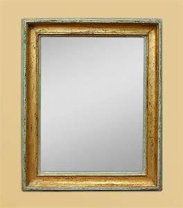 Miroir Vénitien Ancien : miroir ancien bois dor patin vert ~ Preciouscoupons.com Idées de Décoration