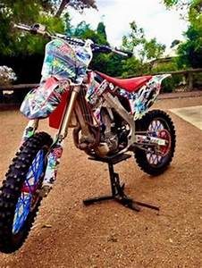 Have you ever heard about fluorescent neon dirt bike