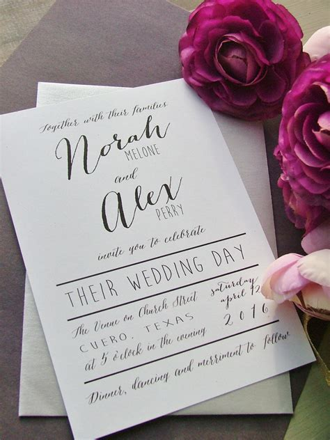 top  wedding invitation trends