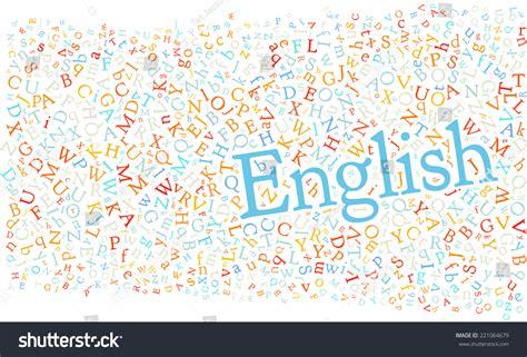 English Alphabet Texture Word English High Stock Illustration 221064679 Shutterstock