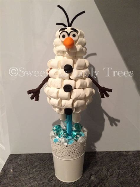 olaf lolly tree lolly trees  pinterest olaf