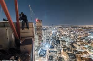 canadian parkour athletes daredevil skyscraper