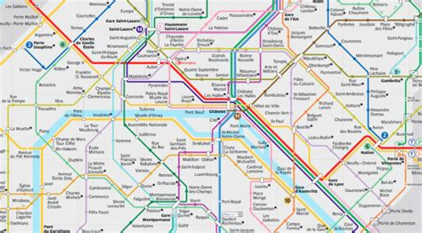Paris Metro Map Ratp