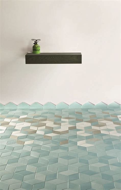 blue green bathroom tiles the style files