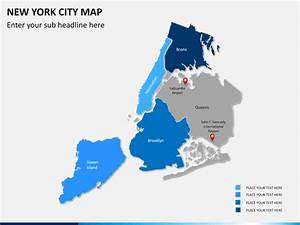 new york city map powerpoint sketchbubble