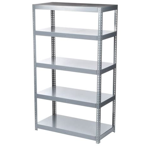 storage racks home depot edsal 84 in h x 36 in w x 18 in d 6 shelf boltless