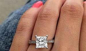 5 square engagement rings to adore ritani With square shaped wedding rings