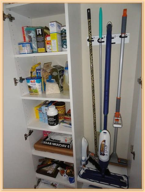 Cleaning Closet Ideas by Image Of Broom Closets Tips To Keep Cleaners And Cleaning