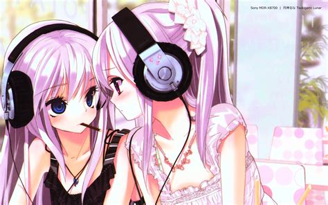 Anime Headphones Wallpaper - anime headphones wallpaper 1920x1200 wallpoper