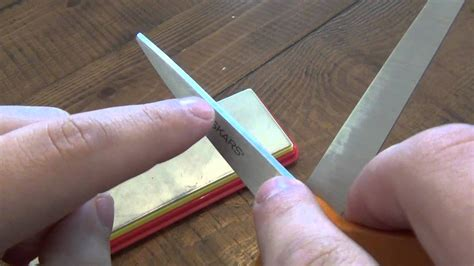 How To  Sharpen Scissors  Youtube