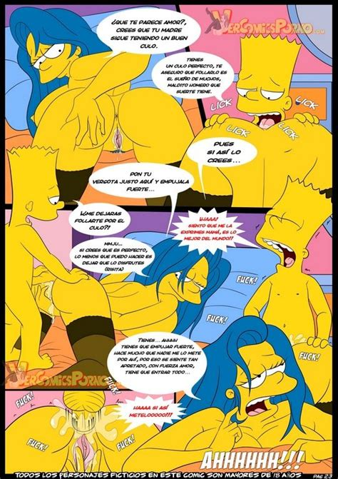 bart and marge xxx comic