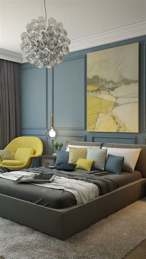 Blue Yellow And Gray Bedroom Design by 129 Best Blue And Yellow Images On Yellow
