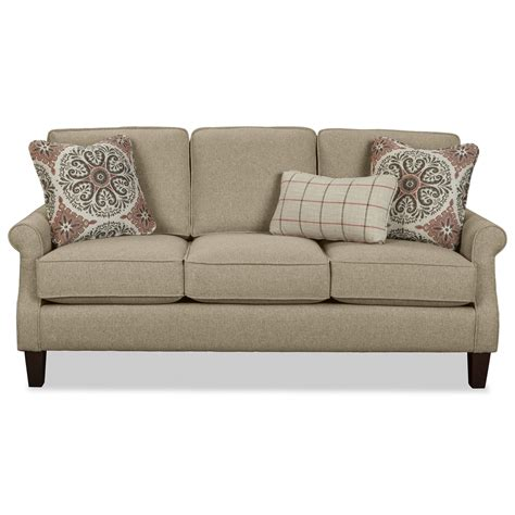 Apartment Size Loveseats by Craftmaster 7719 Apartment Size Sofa With Rolled Arms