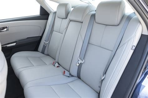 sedans   good  row middle seats