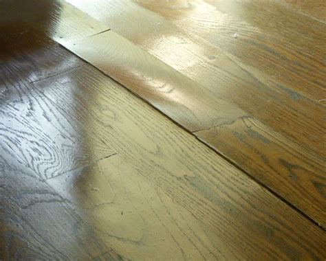Hardwood Floor Cupping Concrete Slab by Jeff Pope Wood Flooring Inspections