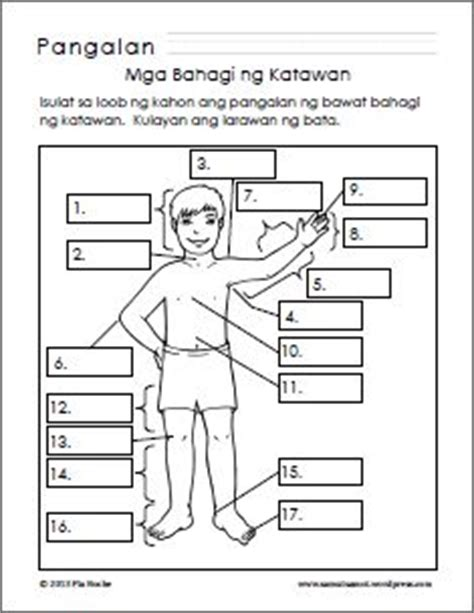 filipino worksheets images worksheets filipino