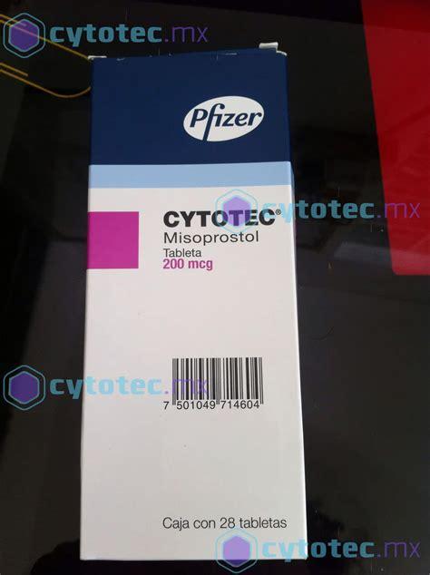 Pastillas Citotec Presentación Cytotec Misoprostol Cytotec En México